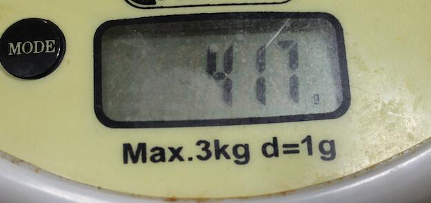Вес клюшки CCM Trigger Asy