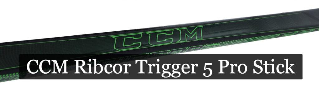 Клюшка ccm ribcor trigger 5 pro stick
